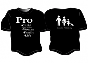 Order Your Shirt for 2020 Pro-Life T-Shirt Day!